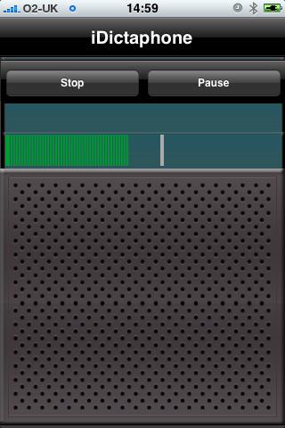 iDictaphone screenshot #3