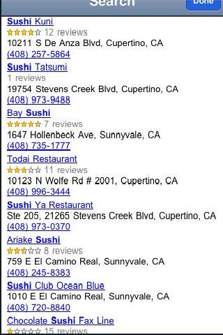 iLocate - Sushi screenshot #2