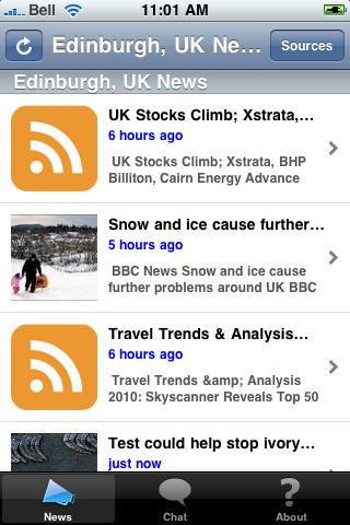 Edinburgh, UK News screenshot #1