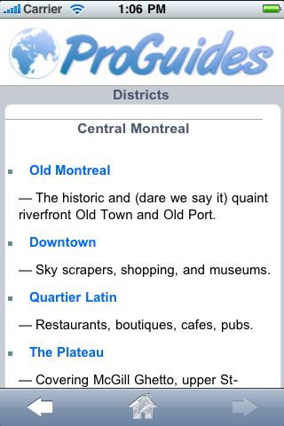 ProGuides - Montreal screenshot #3