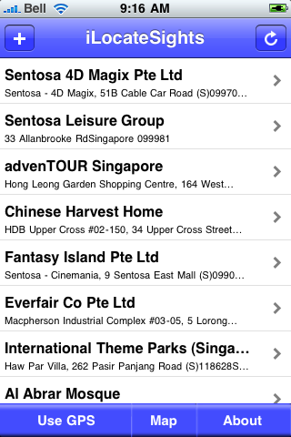 Singapore Sights screenshot #2