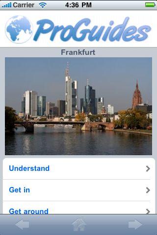 ProGuides - Frankfurt screenshot #1