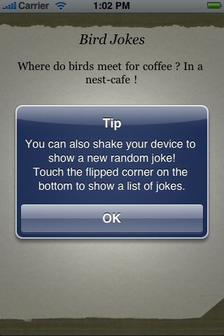 Bird Jokes screenshot #2