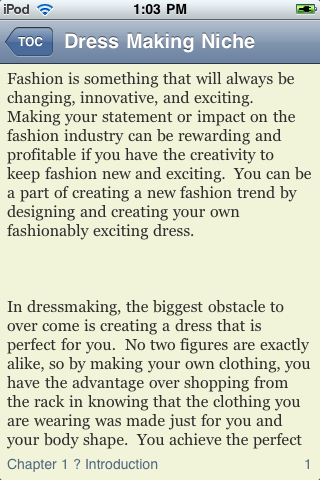 Dress Making screenshot #2