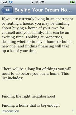 Guide to Buying Your Dream Home screenshot #3