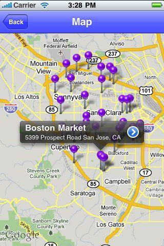 iLocate - Department Stores screenshot #2