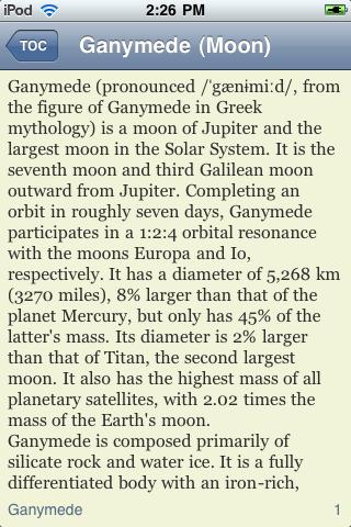 Ganymede - Jupiter's Moon screenshot #2