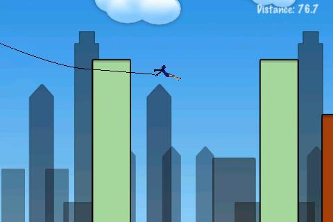 Rope'n'Fly screenshot #4