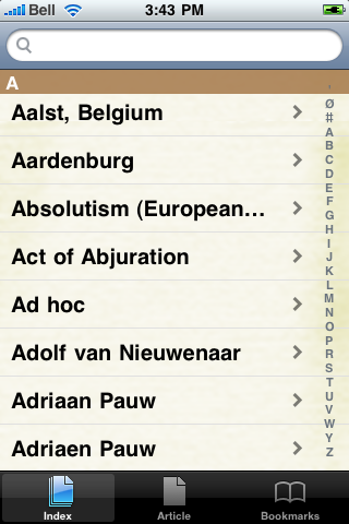 The Eighty Years' War Study Guide screenshot #2