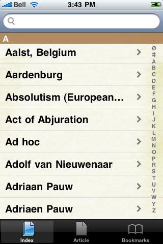 The Eighty Years' War Study Guide screenshot #2