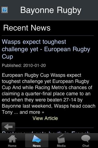 Rugby Fans - Bayonne screenshot #2