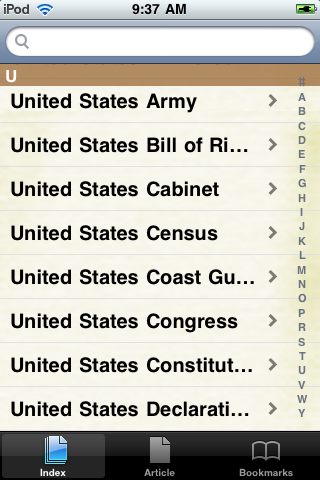 United States Constitution Study Guide screenshot #2