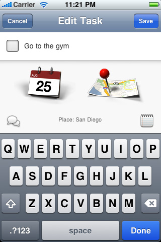 Tasker - A Task & Todo List Organizer with Maps screenshot #1