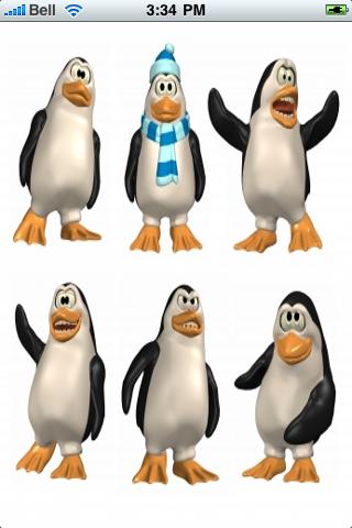 Funny Penguins Slide Puzzle screenshot #1