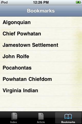 Pocahontas Study Guide screenshot #3