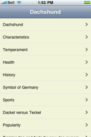 The Dachshund Book screenshot #1