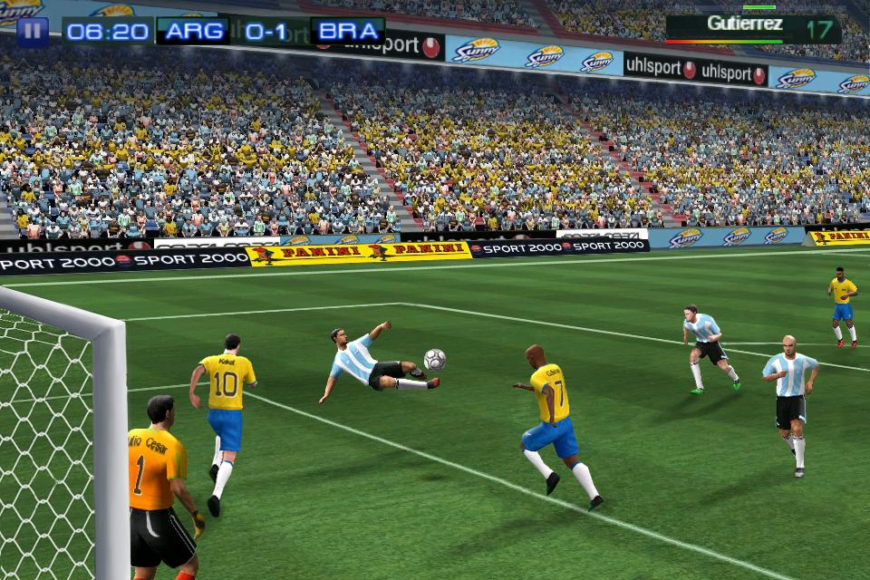 Real Football 2011 FREE screenshot #1