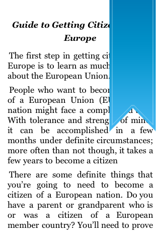 Guide to Getting Citizenship in Europe screenshot #5