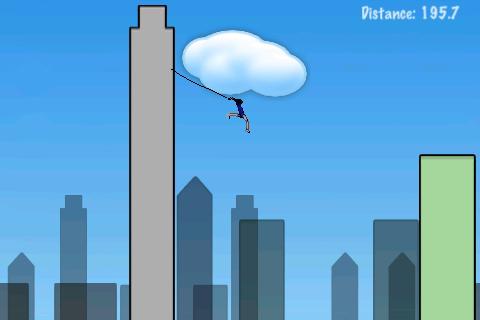 Rope'n'Fly Lite screenshot #3