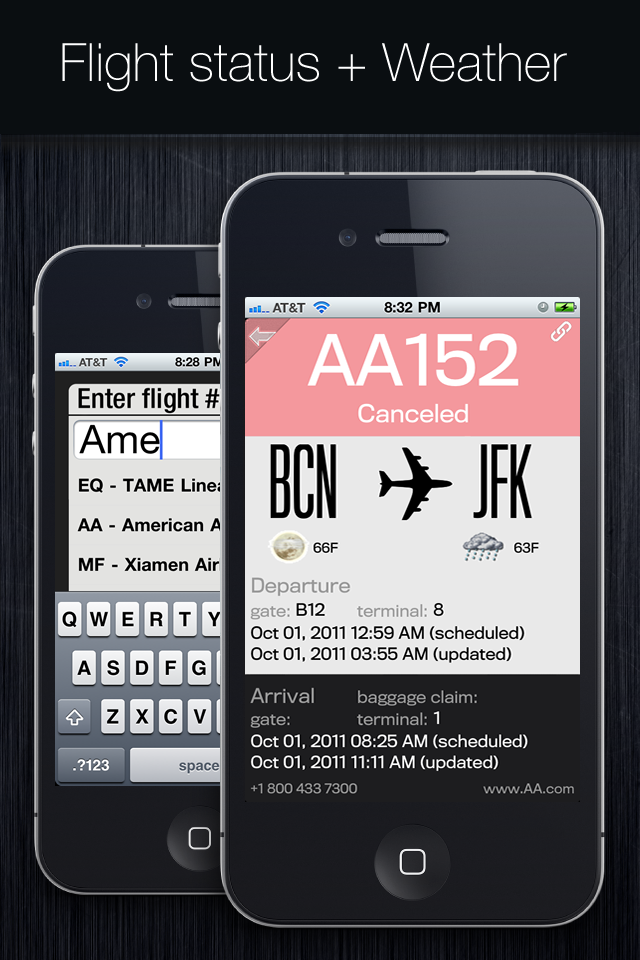 Flight Status+ screenshot #3