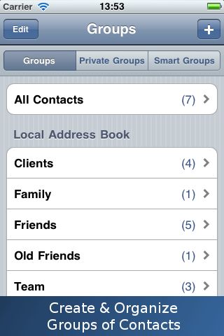 GroupsXL: SMS and Email screenshot #1