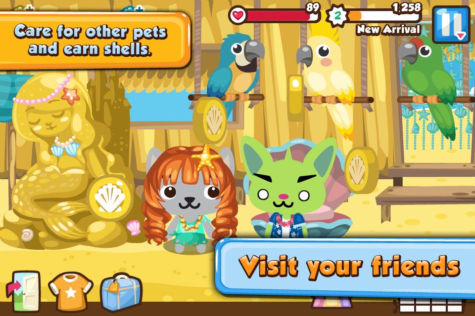Pet Society Vacation screenshot 2