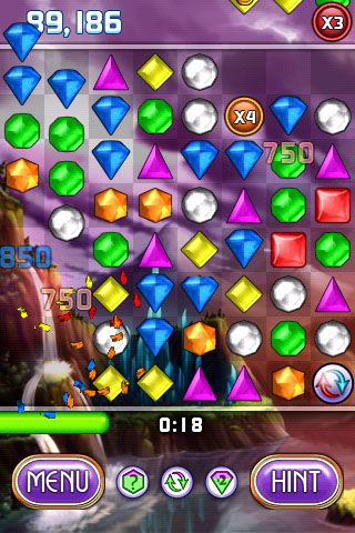 Bejeweled 2 + Blitz screenshot #2