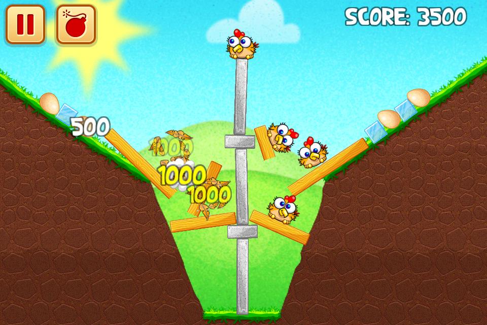 Chicken Raid Begins screenshot #2