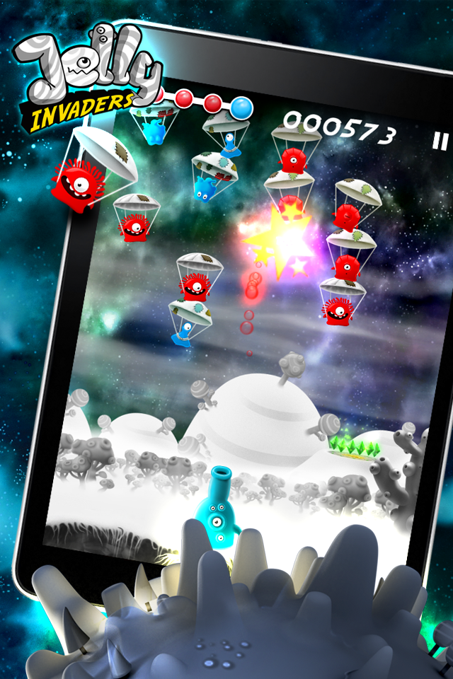 Jelly Invaders screenshot #1