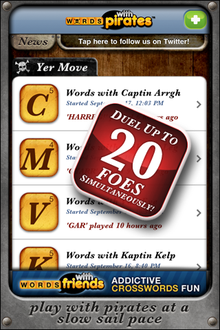 Words With Pirates screenshot 3
