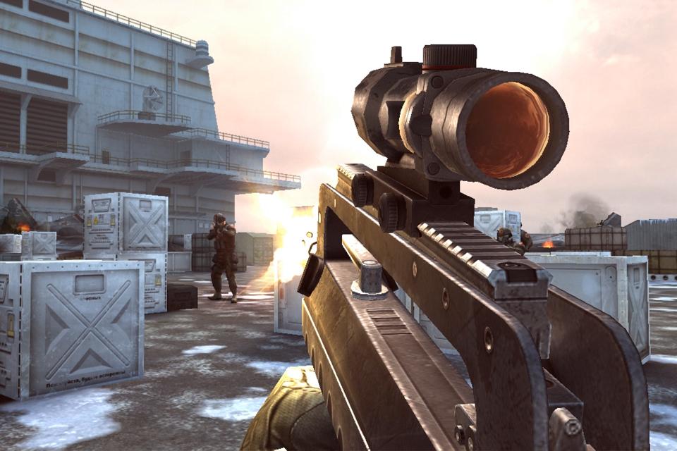 تحديث 17/3/2012 للعبة الحرب الشهيرة Modern Combat 3:Fallen Nation v1.1.0 من قوقل بلاى