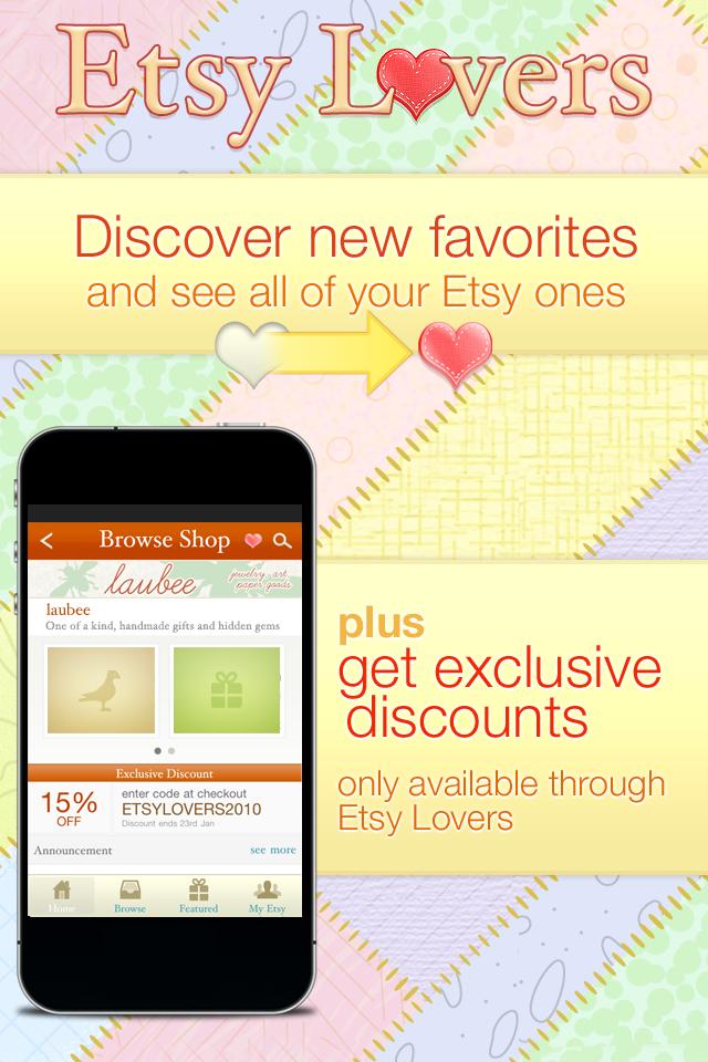 Etsy Lovers screenshot 4