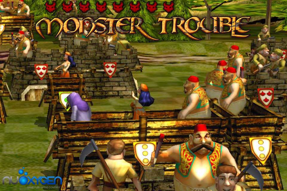 Monster Trouble HD screenshot 5
