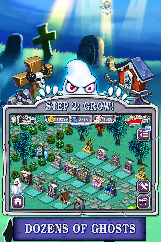 Ghost Harvest screenshot #2