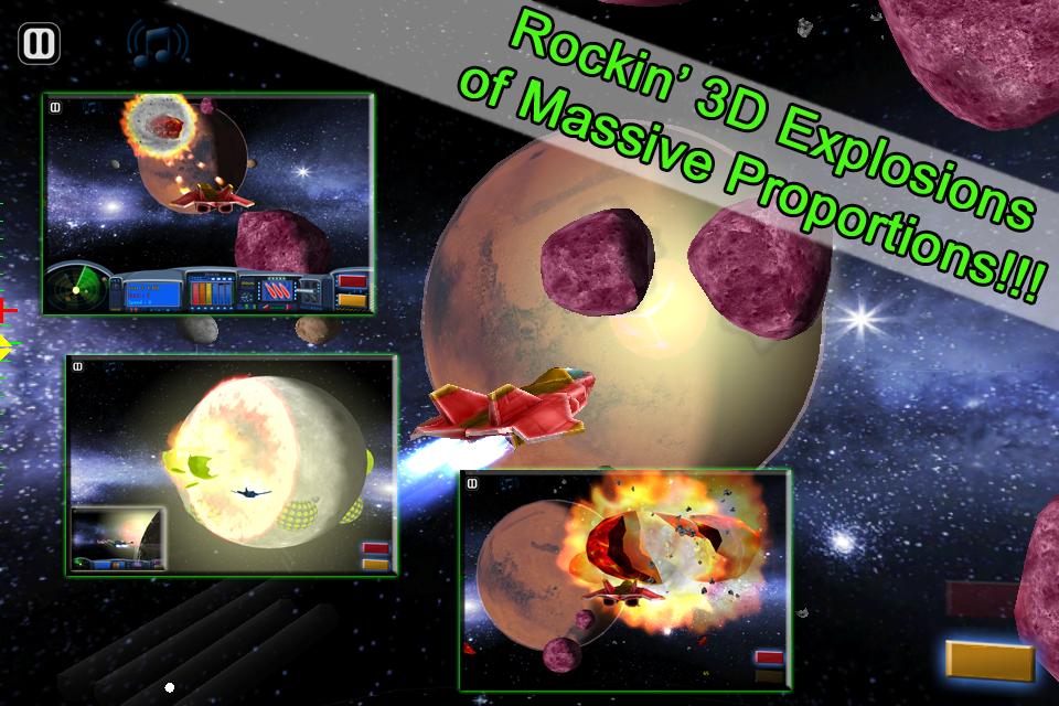 Asteroids 2012 screenshot 4