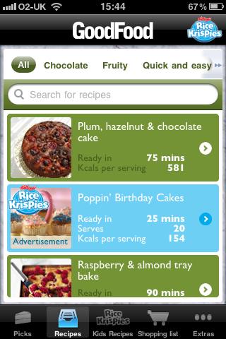 Good Food Cake Recipes - Sponsored by Rice Kris... screenshot #2