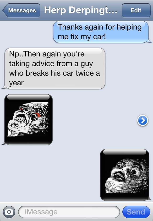SMS Rage Faces Pro Screenshot
