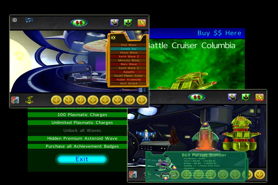 Asteroids 2012 screenshot 3
