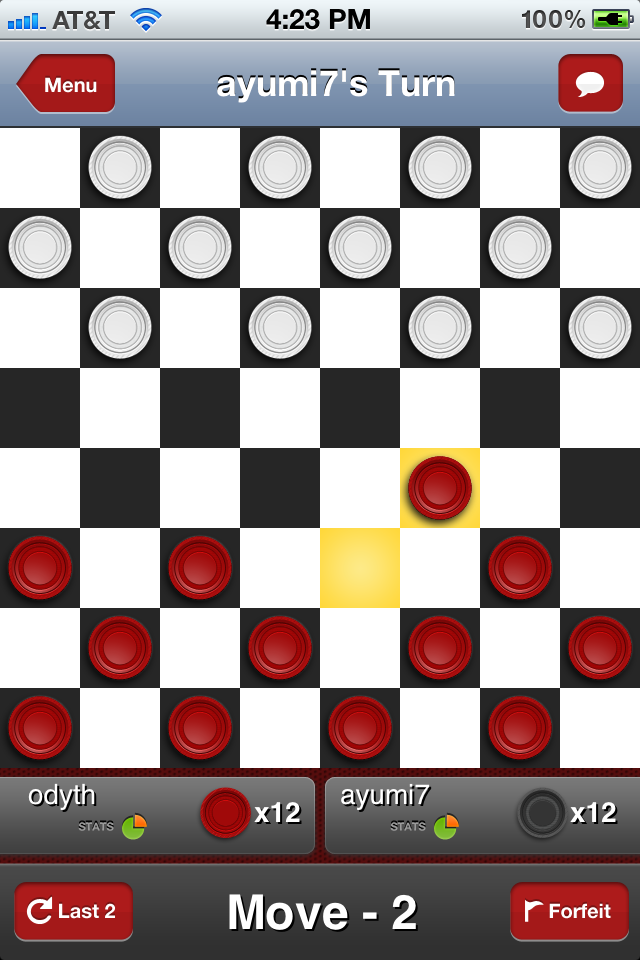 Checkers With Buddies Free screenshot #3