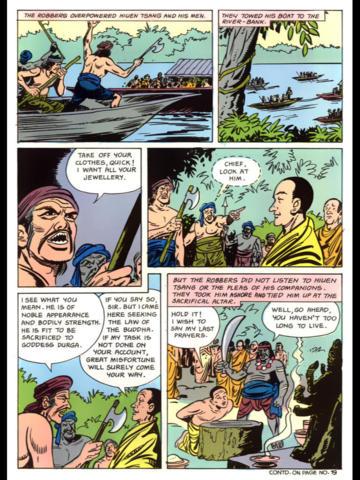 Hiuen Tsang (A Buddhist Piligrim from China) - Amar Chitra Katha Comics screenshot 7
