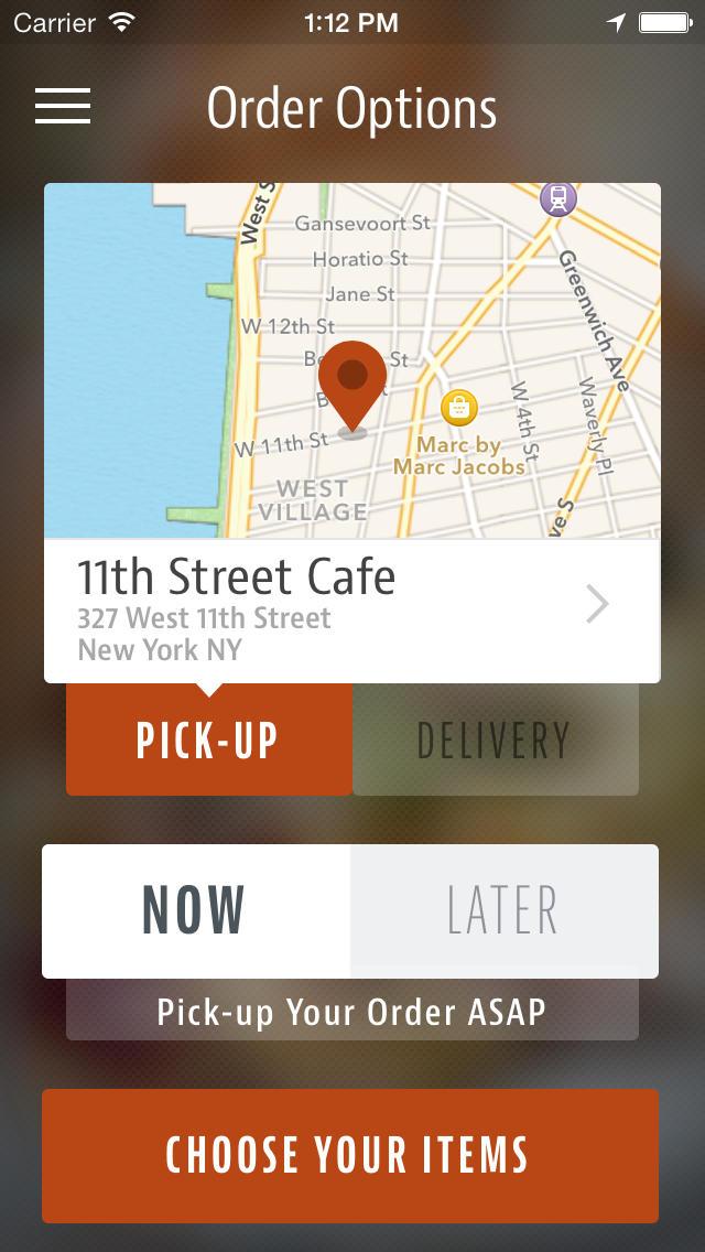 11th Street Cafe screenshot 2