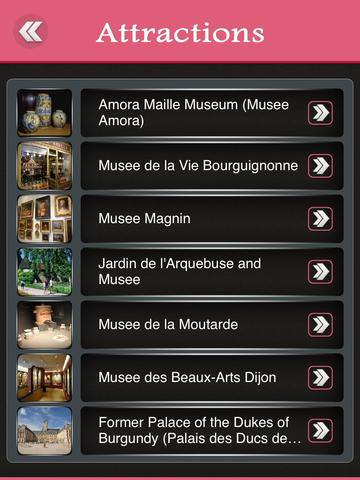 Dijon City Offline Travel Guide screenshot 8