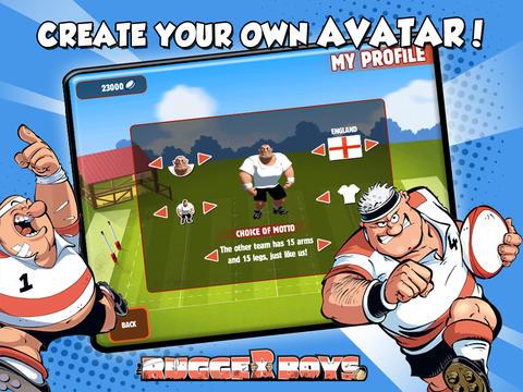 The Rugger Boys HD screenshot 3