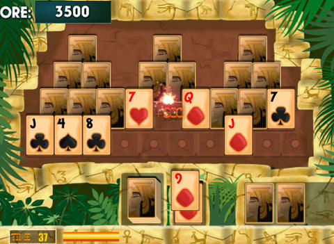 Egyptian Pyramid Solitaire - náhled