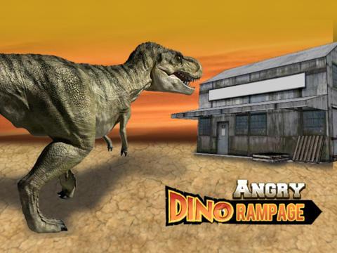 Angry Dino Rampage HD - Full Version screenshot 7