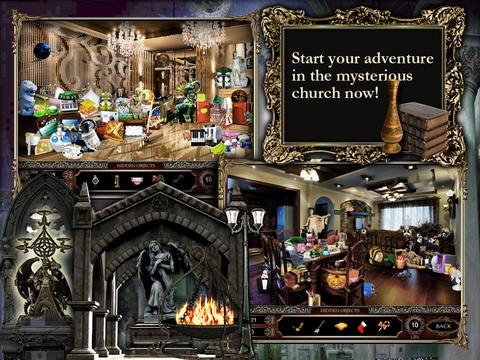 Agatha's Church HD - hidden object puzzle game - náhled