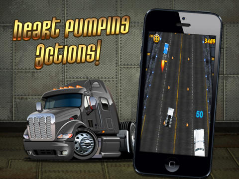 Crazy Truck - Dangerous Semi Highway Race Pro screenshot 7