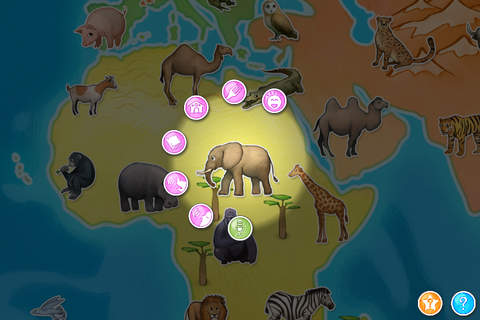 Animap - Animals, their families, their sounds, th - náhled