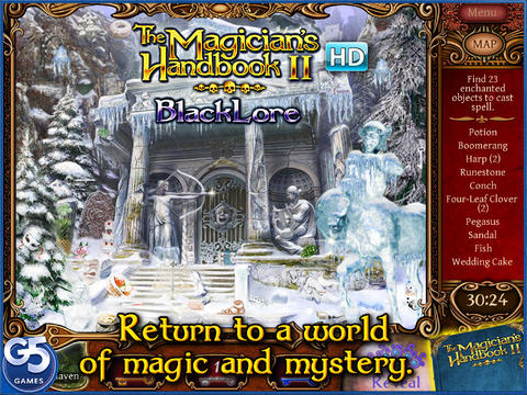 The Magician's Handbook II: Blacklore HD screenshot 1