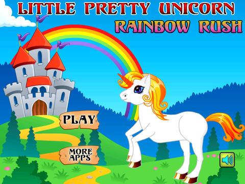 A Little Pretty Unicorn Rainbow Rush - Full Version screenshot 8